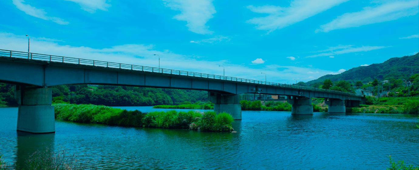 上野原市 桂川橋